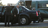White House Chief of Staff John Kelly prepares to board Marine One while accompanying United States President Donald J. Trump on a visit with military members and their families at Walter Reed National Military Medical Center in Bethesda, Maryland on December 21, 2017. Credit: Chris Kleponis - Pool via CNP