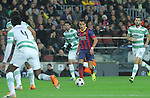 11.12.2013 Barcelona, Spain. UEFA Champions League, Group H Matchday 6. Picture show Alexis Sánchez   in action during game between FC Barcelona Against Celtic at Camp Nou