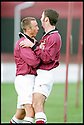 3rd October 98      .Copyright Pic : James Stewart   .STENHOUSEMUIR V ALBION ROVERS.ALAN LAWRENCE IS CONGRATULATED BY R.HAMILTON AFTER SCORING STENNY'S SECOND GOAL......Payments to :-.James Stewart Photo Agency, Stewart House, Stewart Road, Falkirk. FK2 7AS      Vat Reg No. 607 6932 25.Office : 01324 630007        Mobile : 0421 416997.If you require further information then contact Jim Stewart on any of the numbers above.........