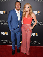 "30 July 2019 - Los Angeles, California - Julius Chiu, Britt Poulton. ""Them That Follow"" Los Angeles Premiere held at the Landmark Theatre. Photo Credit: Billy Bennight/AdMedia"