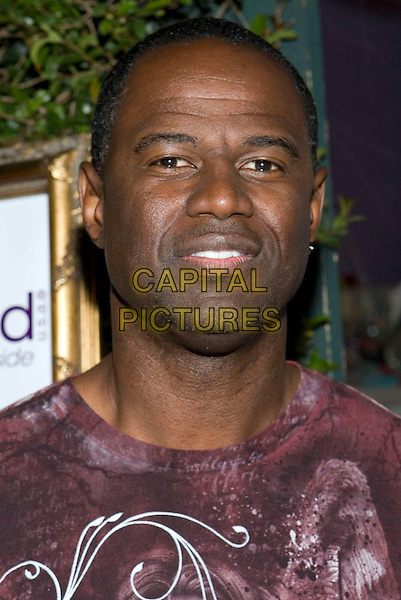 BRIAN McKNIGHT .The Grand Opening of The Painted Nail held at the The Painted Nail, Sherman Oaks, CA, USA, 21 May 2009..portrait headshot purple print .CAP/ADM/TC.©T. Conrad//Admedia/Capital Pictures