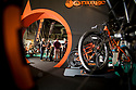 27/09/18<br /> <br /> ***Free photo for social media use***<br /> <br /> Orange Bikes stand at the Cycle Show, NEC, Birmingham<br /> <br /> <br /> All Rights Reserved, F Stop Press Ltd. (0)1335 344240 +44 (0)7765 242650  www.fstoppress.com rod@fstoppress.com