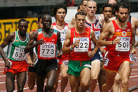 Men's 1500m 1st. round race at the 11th. IAAF World Championships held in Osaka, Japan on Saturday, August 25, 2007. Photo by Errol Anderson,The Sporting Image.