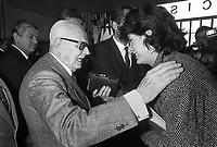 - Sandro Pertini, president of the Italian Republic, at the inauguration of the Milano's Commercial Fair (April 1984)....- Sandro Pertini, presidente della Repubblica Italiana, all'inaugurazione della Fiera Campionaria di Milano (aprile 1984)