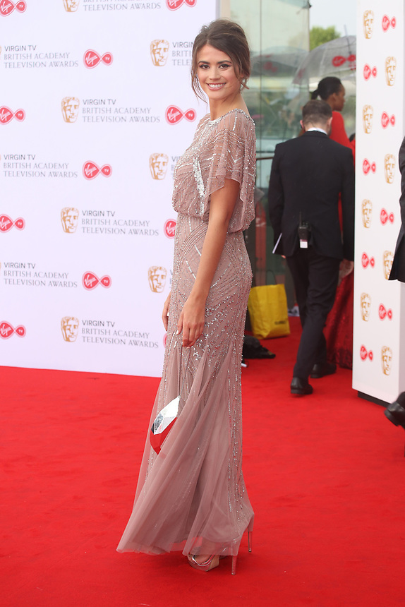 Sophie Porley<br />  arriving at the Bafta Tv awards 2017. Royal Festival Hall,London  <br /> ©Ash Knotek