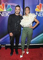 NEW YORK, NY - MAY 09: Luis Fonsi and Amanda Seales  attends the 2019/2020 NBC Upfront presentation at the    Fourr Seasons Hotel on May 13, 2019in New York City.  <br /> CAP/MPI/JP<br /> ©JP/MPI/Capital Pictures