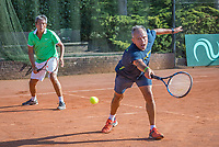 Etten-Leur, The Netherlands, August 27, 2017,  TC Etten, NVK, Men's doubles :Mike (R) and Rob Simon, winners 50+,<br /> Photo: Tennisimages/Henk Koster
