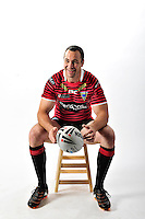 PICTURE BY VAUGHN RIDLEY/SWPIX.COM - Rugby League - ISC 2012 Super League Team Kit Shoot - 17/08/11- Warrington Wolves Adrian Morley.