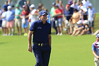 Phil Mickelson (USA) on the 18th green during Friday's Round 2 of the 2017 PGA Championship held at Quail Hollow Golf Club, Charlotte, North Carolina, USA. 11th August 2017.<br /> Picture: Eoin Clarke | Golffile<br /> <br /> <br /> All photos usage must carry mandatory copyright credit (&copy; Golffile | Eoin Clarke)