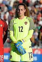 20171024 - PENAFIEL , PORTUGAL : Portugese Patricia Morais pictured during a women's soccer game between Portugal and the Belgian Red Flames , on tuesday 24 October 2017 at Estádio Municipal 25 de Abril in Penafiel. This is the third game for the  Red Flames during the Worldcup 2019 France qualification in group 6. PHOTO SPORTPIX.BE | DAVID CATRY