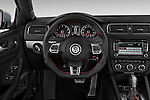 Steering wheel view of a 2013 Volkswagen Jetta GLI Sedan2013 Volkswagen Jetta GLI Sedan