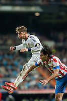 Sergio Ramos and Falco Header