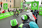 Michael Matthews (AUS) Team Sunweb and Green Jersey Marcel Kittel (GER) Quick-Step Floors contest the intermediate sprint during Stage 12 of the 104th edition of the Tour de France 2017, running 214.5km from Pau to Peyragudes, France. 13th July 2017.<br /> Picture: ASO/Alex Broadway | Cyclefile<br /> <br /> <br /> All photos usage must carry mandatory copyright credit (&copy; Cyclefile | ASO/Alex Broadway)
