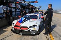 #25 BMW TEAM RLL (USA) BMW M8 GTE GTLM TOM BLOMQVIST (GBR) CONNOR DE PHILLIPPI (USA) COLTON HERTA (USA)