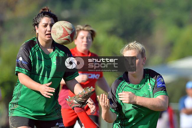 Women's Ten's Rugby, Neale Park, Nelson, New Zealand, Saturday 14 June 2014, Photo: Barry Whitnall/shuttersport.co.nz