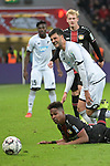 03.11.2018, BayArena, Leverkusen, GER, 1. FBL,  Bayer 04 Leverkusen vs. TSV 1899 Hoffenheim,<br />  <br /> DFL regulations prohibit any use of photographs as image sequences and/or quasi-video<br /> <br /> im Bild / picture shows: <br /> Wendell (Leverkusen #18), am Boden <br /> Foto &copy; nordphoto / Meuter