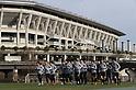 Soccer : Japan National Team Training Session
