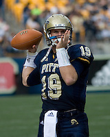 20 October 2007: Pitt quarterback Pat Bostick..The Pitt Panthers defeated the Cincinnati Bearcats 24-17 on October 20, 2007 at Heinz Field, Pittsburgh, Pennsylvania.
