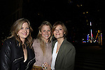 """Three Sisters - Grace, Mamie, Louisa Gummer (daughters of Meryl Streep) pose at after party as Grace stars in """"Arcadia"""" - Broadway Opening Night on March 17, 2011 at the Ethel Barrymore Theatre, New York City, New York.  Arrivals, Curtain Call and Party after at Gotham Hall. (Photo by Sue Coflin/Max Photos)"""