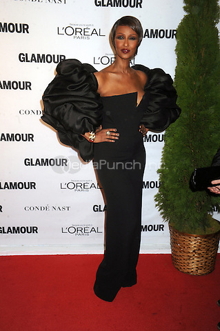 Iman attends Glamour's 25th Anniversary Women Of The Year Awards at Carnegie Hall   on November 9, 2015. Credit: Dennis Van Tine/MediaPunch