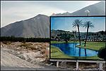 Desert Oasis Billboard, Palm Springs, 1978