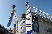 The Billy Bremner statue outside of the Elland Road stadium<br /> <br /> Photographer Andrew Kearns/CameraSport<br /> <br /> The EFL Sky Bet Championship - Leeds United v Bolton Wanderers - Saturday 23rd February 2019 - Elland Road - Leeds<br /> <br /> World Copyright © 2019 CameraSport. All rights reserved. 43 Linden Ave. Countesthorpe. Leicester. England. LE8 5PG - Tel: +44 (0) 116 277 4147 - admin@camerasport.com - www.camerasport.com