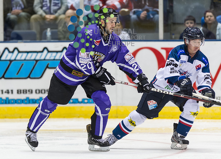 NHL star Drew Miller makes his debut for The Braehead Clan   ,12 October 2012, Picture: Al Goold/Universal News and Sport (Europe) 2012.