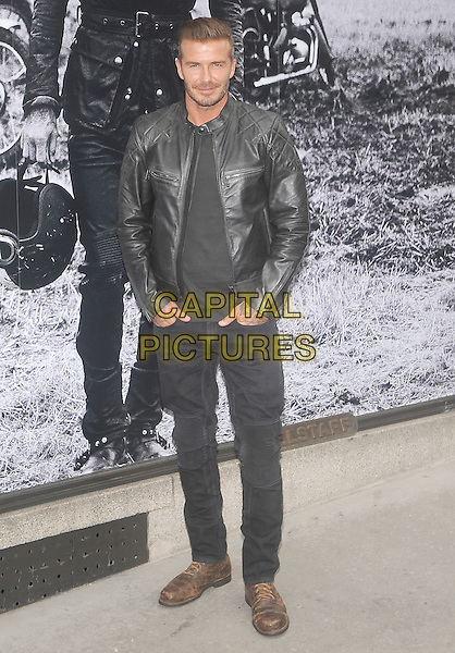 New York, NY-September 9:  David Beckham are spotted outside the Belstaff House on September 9, 2014 in New York City.  <br /> CAP/RTNSTV<br /> &copy;RTNSTV/MPI/Capital Pictures