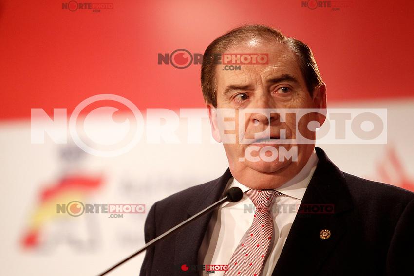 Carlos Gracia, President of the Royal Spanish Automobile Federation during the gala Santander  Karting Champions 2012..(Alterphotos/Acero) NortePhoto