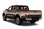 Car pictures of rear three quarter view of a 2018 Renault Alaskan Denali 4 Door Pick Up angular rear