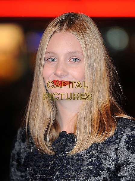 "ROMOLA GARAI .attending The Times BFI 53rd London Film Festival Premiere of ""Glorious 39"" at Vue West End, Leicester Square, London, England, UK, .27th October 2009.portrait headshot red lipstick black .CAP/BEL.©Tom Belcher/Capital Pictures"