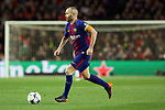 UEFA Champions League 2017/2018.<br /> Quarter-finals 1st leg.<br /> FC Barcelona vs AS Roma: 4-1.<br /> Andres Iniesta.