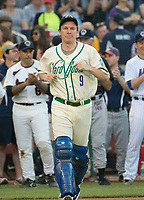 United States Senator Chris Murphy (Democrat of Connecticut) is introduced prior to the 56th Annual Congressional Baseball Game for Charity where the Democrats play the Republicans in a friendly game of baseball at Nationals Park in Washington, DC on Thursday, June 15, 2017. Sen. Murphy will play at catcher. Photo Credit: Ron Sachs/CNP/AdMedia