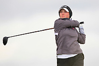 Fiona Liddell (SCO) on the 8th tee during Round 3 Matchplay of the Women's Amateur Championship at Royal County Down Golf Club in Newcastle Co. Down on Friday 14th June 2019.<br /> Picture:  Thos Caffrey / www.golffile.ie