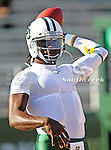 Baylor Bears quarterback Robert Griffin III (10) in action during the game between the Rice Owls and the Baylor Bears at the Floyd Casey Stadium in Waco, Texas. Baylor defeats Rice 56 to 31..