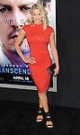 Brittany Daniel arriving at the Transcendence Los Angeles Premiere held at the Regency Village Theater April 10, 2014.