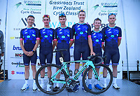 Team Nero Bianchi. 2019 Grassroots Trust NZ Cycle Classic UCI 2.2 Tour at St Peter's School in Cambridge, New Zealand on Tuesday, 22 January 2019. Photo: Dave Lintott / lintottphoto.co.nz