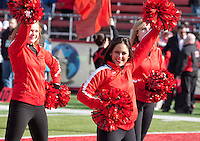 Cheerleaders at the Scarlet Knights Football Game, High Point Solutions Stadium, New Brunswick, New Jersey