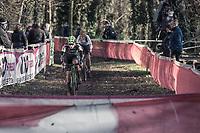 Maud Kaptheijns (NED/Crelan-Charles)<br /> <br /> women's elite race<br /> Flandriencross Hamme / Belgium 2017