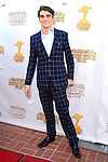 BURBANK - JUN 26: R J Mitte at the 39th Annual Saturn Awards held at Castaways on June 26, 2013 in Burbank, California