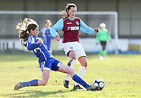 120115 Billericay Town Ladies v West Ham Utd Ladies