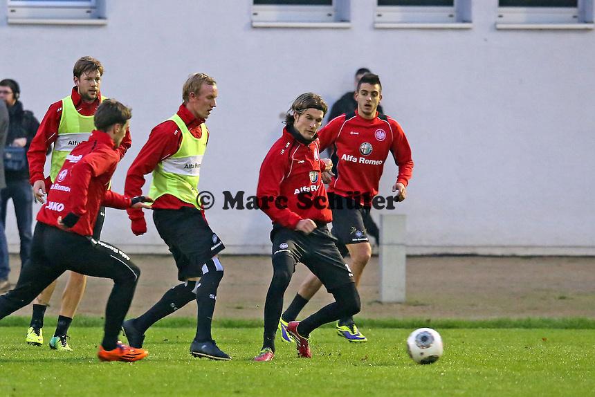 Marco Russ, Srdjan Lakic, Jan Rosenthal, Martin Lanig, Joselu (Eintracht)