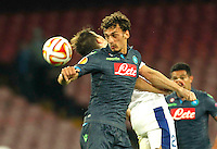 Manolo Gabbianini during Europa League Semi Final first    leg soccer match, between SSC Napoli and  Dinipro   at  the San Paolo   stadium in Naples  Italy , May 07, 2015