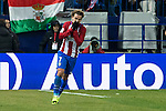 Atletico de Madrid's forward Antoine Griezmann reacts during the match of Copa del Rey between Atletico de  Madrid and Futbol Club Barcelona at Vicente Calderon Stadium in Madrid, Spain. February 1st 2017. (ALTERPHOTOS/Rodrigo Jimenez)