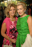 Mary Johnston and Janet Walker at the Bayou Bend Garden Party  Sunday April 05,2009.(Dave Rossman/For the Chronicle)