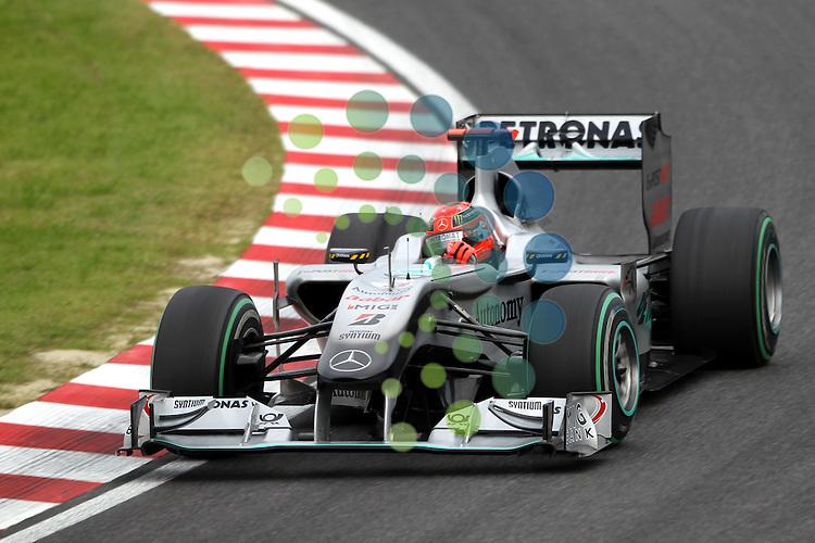 F1 GP of Japan, Suzuka  08.- 10. Okt. 2010.Michael Schumacher (GER), Mercedes GP ...Picture: Hasan Bratic/Universal News And Sport (Europe) 8 October 2010.
