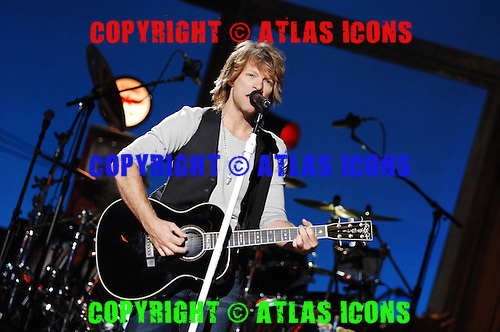 BON JOVI: 2007.Photo Credit: Eddie Malluk/Atlas Icons.com