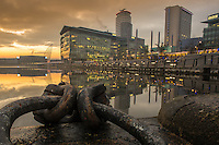 Photo: Wilkinson Photography<br /> <br /> MediaCityUK is a 200-acre mixed-use property development site on the banks of the Manchester Ship Canal in Salford and Trafford, Greater Manchester, England. The project is being developed by Peel Media, and its principal tenants are media organisations and the University of Salford. The land occupied by the development was part of the Port of Manchester and Manchester Docks.