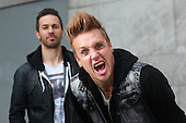 Jun 24, 2013:  PAPA ROACH - Photosession in Paris France
