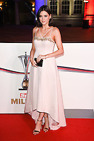 Lilah Parsons<br /> at the Millies 2016, Guildhall, London.<br /> <br /> <br /> &copy;Ash Knotek  D3212  14/12/2016